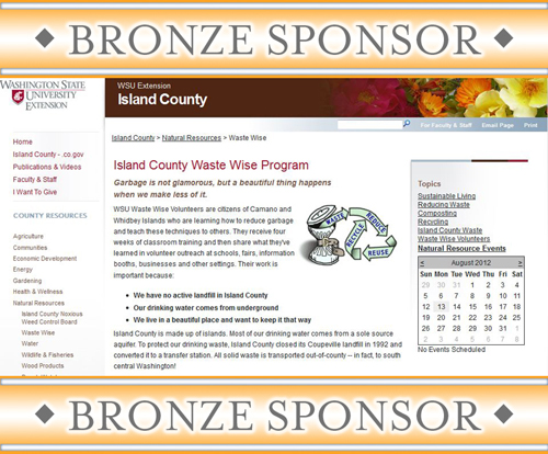 WSU Island County Waste Wise Program